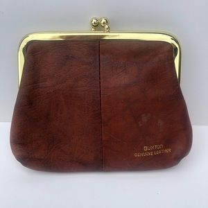 Buxton Leather Coin Purse